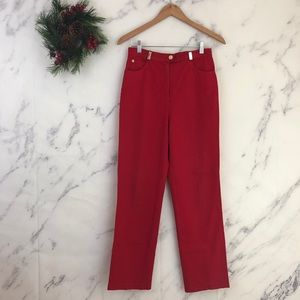 St. John Sport by Marie Grey High Waisted Pants.